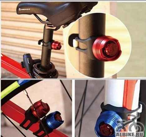 Предупреждающая лампа для велосипеда
