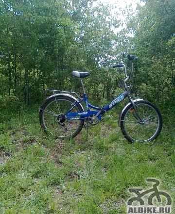 Продается велосипед стелс-750