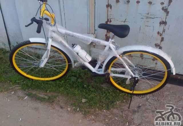 Горный велосипед 18скоростей