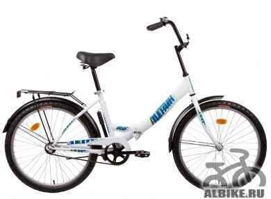 "Продам велосипед Altair 24"" бело-синий"