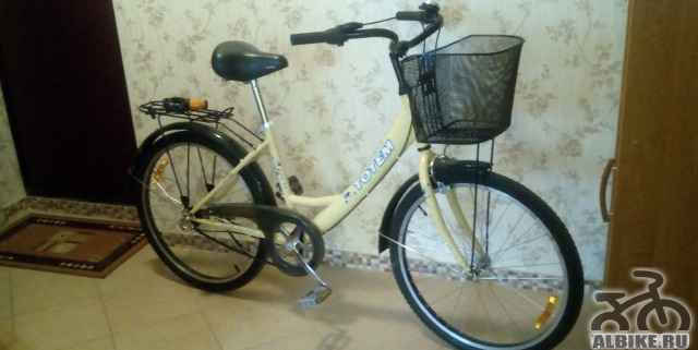 Удобный, надёжный дамский (подростковый) велосипед
