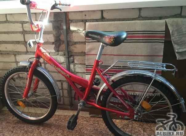 Велосипед для ребенка ростом 120-130 см