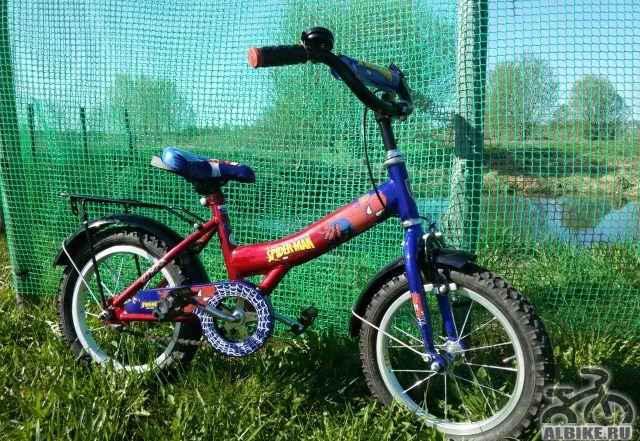 Двухколёсный велосипед Навигатор спайдер-MAN