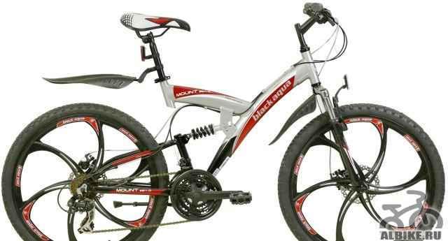 Новый велосипед блак aqua Mount 2611 D на литье