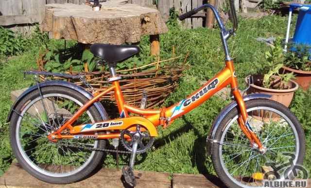 Детский велосипед б/у 1 сезон, хорошее состояние