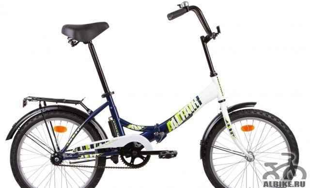 Велосипед складной 20 altair сити 1-ск