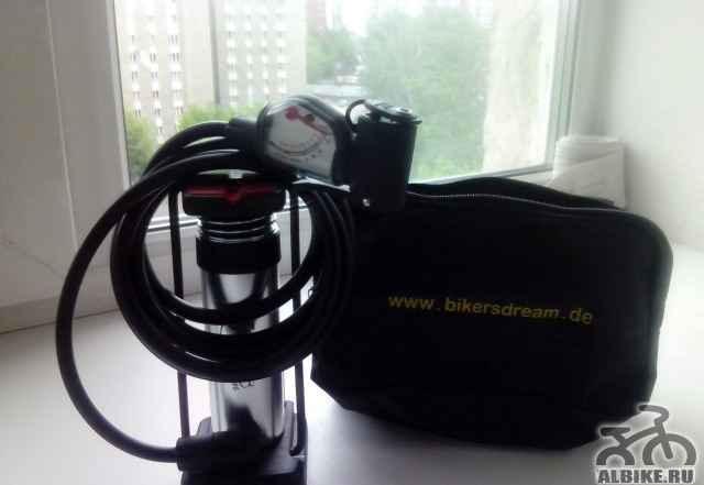 Насос велосипедный с датчиком давления(манометром)
