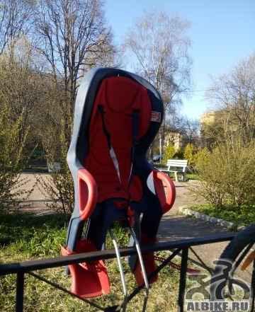 Детское велокресло 10+ Ok baby без замка