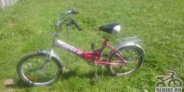 Велосипед Стелс Пилот 450 складной 6 скоростей