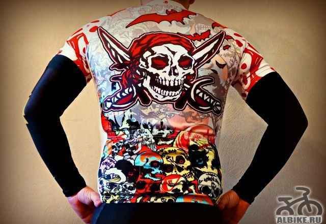 Новая яркая велосипедная майка футболка джерси