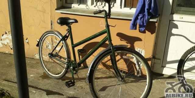Велосипед дорожный хамелеон
