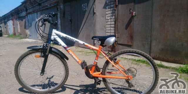 Продам велосипед atemi. б/у
