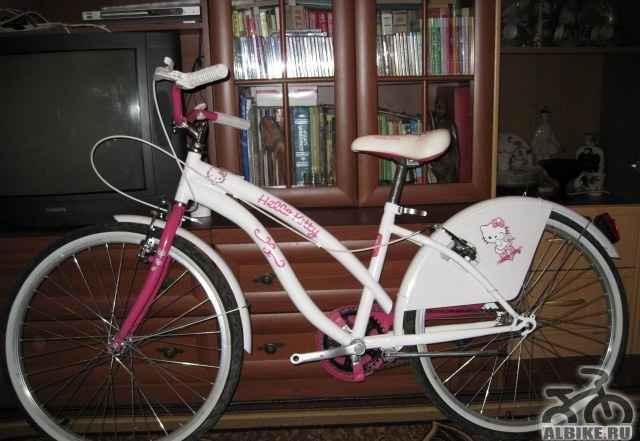 Велосипед, Hello Kitty, колёса 24 дюйма - Фото #1