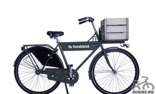 Настоящий голландский велосипед