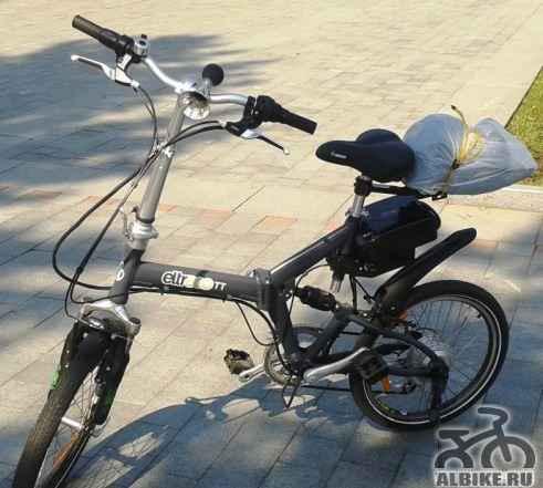 Электровелосипед. Велогибрид Электро TT