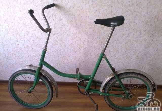 Дорожный, складной велосипед для взрослых Кама