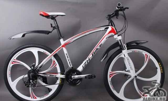 Супер красивый велосипед на дисках