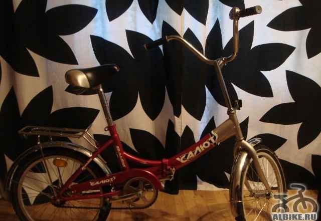Подростковый велосипед Салют, почти новый