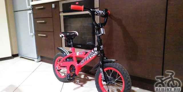 Детский велосипед stern рокет 12, красный