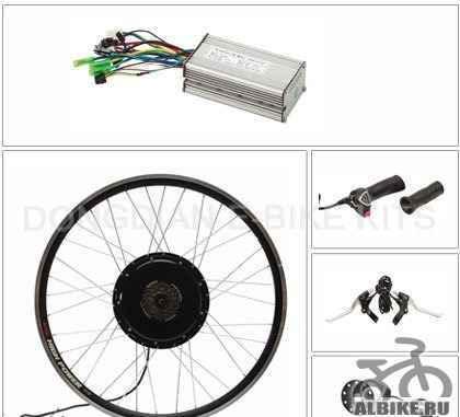 Мотор-колесо 1000 Ватт, электронабор для вел-ов