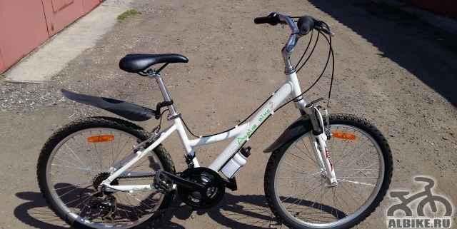 Подрост. велосипед Альпина Байк 550SL для девочек