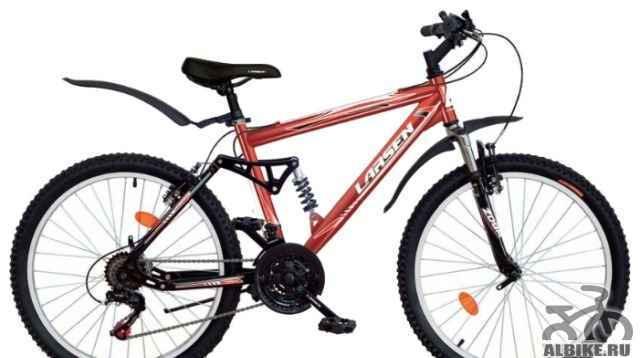 Продам подростковый горный велосипед larsen Раптор