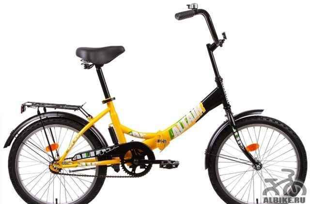 Велосипед 20 altair сити 1-ск
