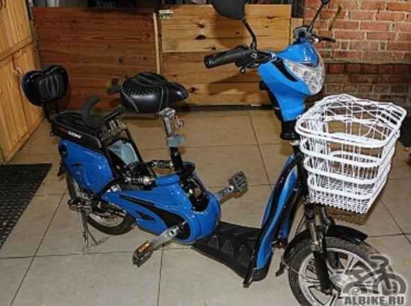 Продам электровелосипед-скутер