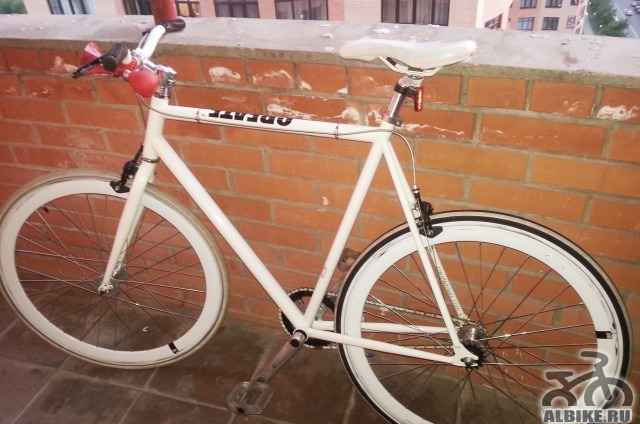 Дорожный велосипед Create White (2011)
