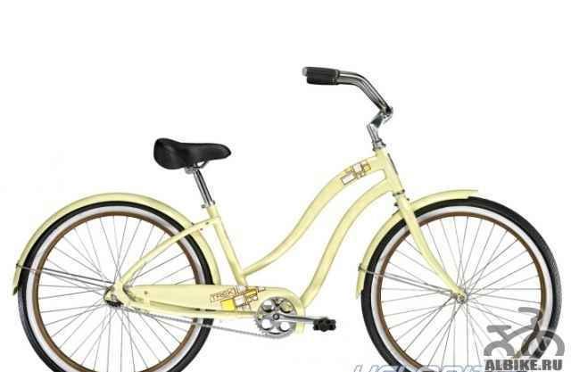 Женский велосипед - круизер трек