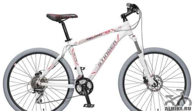 """Велосипед Стингер Reload 2.5 26"""" white новый"""