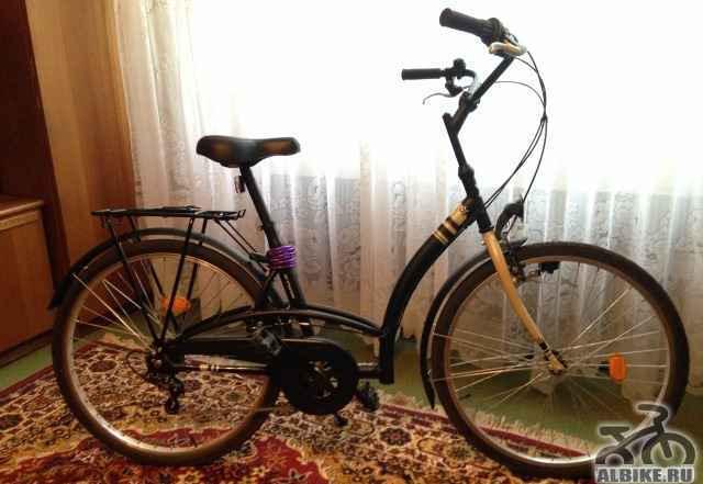 """Велосипед круизер B""""twin Elops 300"""