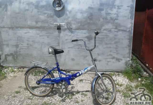 Велосипед марки стелс