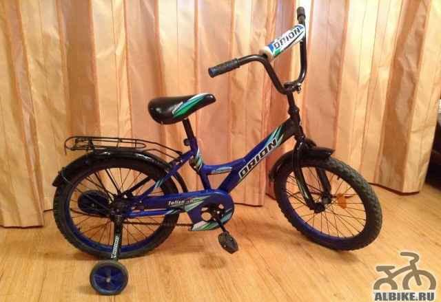 Детский велосипед орион 18