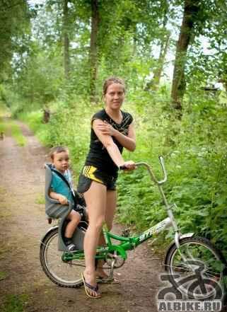 Сиденье детское (велокресло) набагажник Belleli