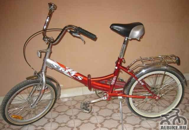 Прогулочный велосипед стелс 1020 hi-ten