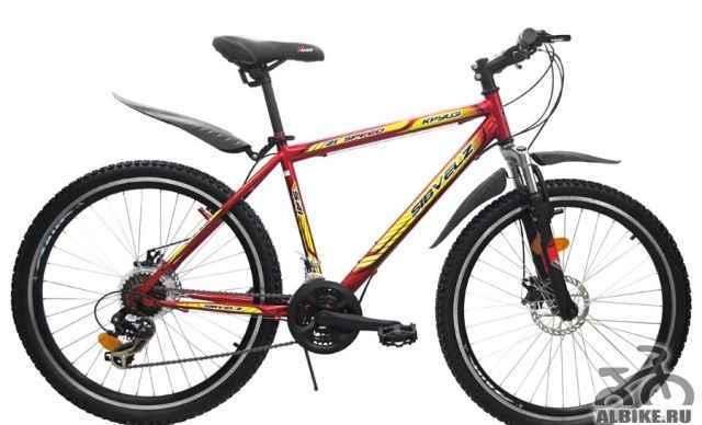 Велосипед горный 541 дисковые тормоза