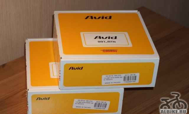Новые дисковые тормоза avid BB7
