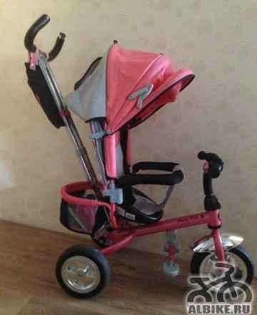 Велосипед трехколесный Moby Kids Комфорт