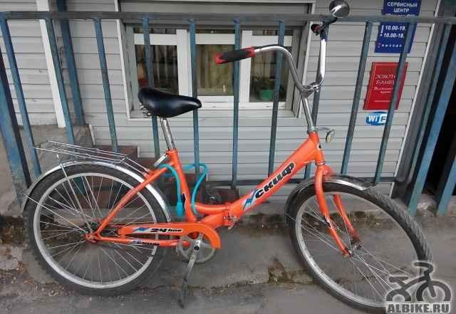 Дорожный складной велосипед Скиф 20-Универсальный