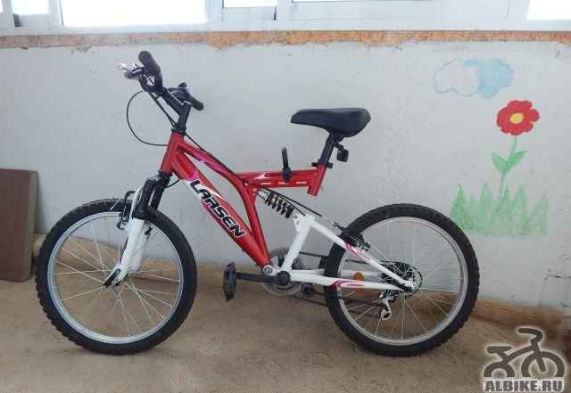 Подростковый велосипед larsen Раптор 20