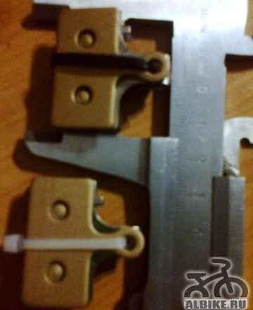 Новые колодки под дисковый гидравлический тормоз