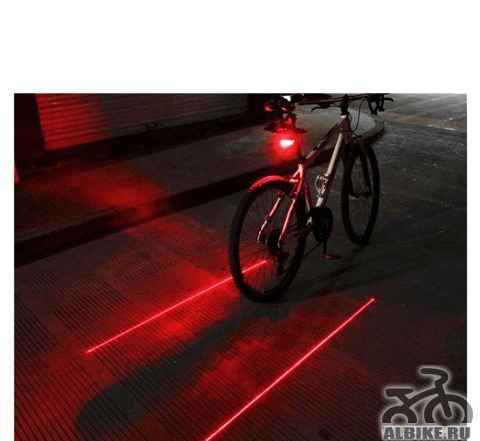 Новый задний фонарь для велосипеда