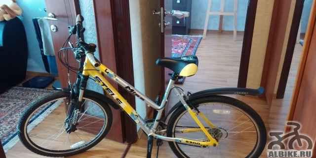 Стелс miss 6300 21 скорость желто-черный