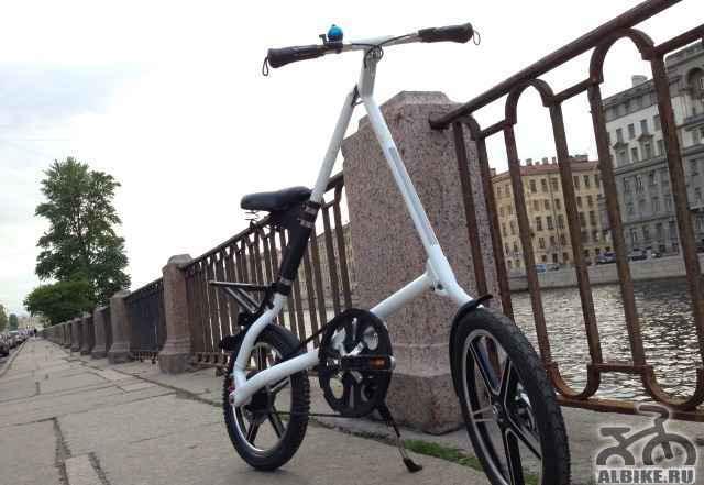 Складной велосипед HandyBike, аналог стрида(strida