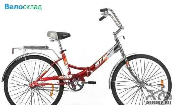 Новый складной велосипед стелс