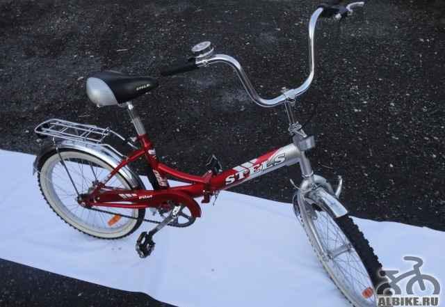 Велосипед бу Стелс Пилот 420, подростки, складной