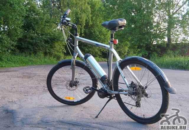Электровелосипед с мотором bafang bbs02 750 W