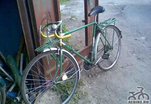 Вело самособран и обкатан надежен для походов