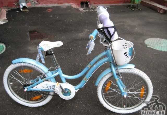 Детский велосипед для девочки Трек Mystic 20
